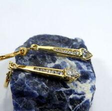 Pendientes de joyería con gemas de oro amarillo no aplicable