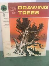 Grumbacher Vtg Art of Drawing Trees 1966 How To Instruction Book 40008