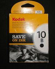 KODAK 10B REPLACEMENT BLACK INK CARTRIDGE #1163641  (B12)