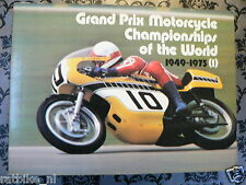 GRAND PRIX MOTORCYCLE CHAMPIONSHIP OF THE WORLD 1949-75, ALL INFO RACES AGO