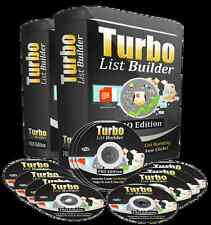 Squeeze Page Optin Turbo List Builder Software on CD