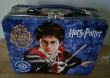 "Classic HARRY POTTER Large Tin Tote / Metal Lunch Box 9"" x 7"" x 3.50"""