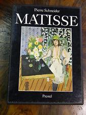 Matisse (liés édition) de Pierre Schneider Prestel-Verlag Livre d'Art Livre