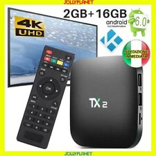 TX2-R2 QUAD CORE ANDROID 6.0 Box 2GB 16GB WIFI IPTV 4K HD KODI SMART TV BT2.0