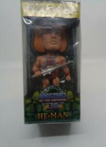 Masters Of The Universe He-Man Wacky Wobbler Funko Bobble Head NEW