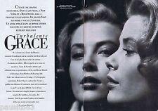 COUPURE DE PRESSE CLIPPING 1994 Grace Kelly Princesse de Monaco    (8 pages)