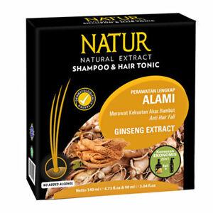 [NATUR] Shampoo & Hair Tonic 2 in 1 Ginseng Extract Thin Hair Loss Treatment
