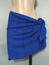 BNWT Womens Size 22/24 Autograph Cobalt Crochet Look Sarong Skirt Wrap RRP $40