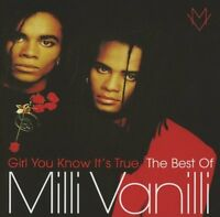 MILLI VANILLI: GIRL YOU KNOW IT'S TRUE THE VERY BEST OF CD GREATEST HITS / NEW