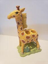 Ceramic Giraffe Toothbrush Holder