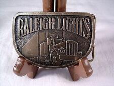 RALEIGH LIGHTS / SEMI TRUCK BELT BUCKLE