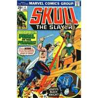 Skull: The Slayer #4 in Very Fine minus condition. Marvel comics [*8m]