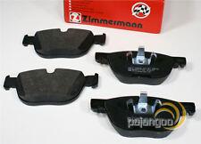 BMW x6 e71 e72 X Drive - Zimmermann Forros de Freno Pastillas para Delante