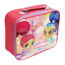 SHIMMER AND SHINE INSULATED THERMAL LUNCH BAG HANDLE BOX SCHOOL PINK GIRLS NICK