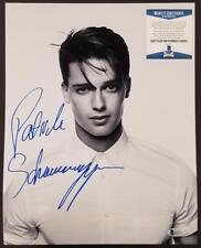 PATRICK SCHWARZENEGGER Signed 11x14 Photo Actor Arnold ~ Beckett BAS COA