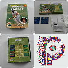 International Cricket Game for the Commodore Amiga Computer tested & working