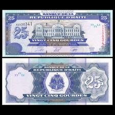 Haiti 25 Gourdes, 2000, P-266a, UNC