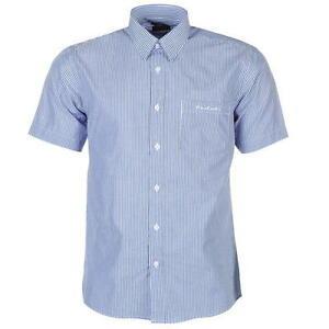 ✅ PIERRE CARDIN Herren Hemd kurzarm kariert Short Shirt Freizeit Kragen Hemden