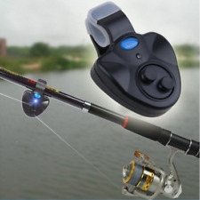 LED Light Electronic Fishing Bite Sound Alarm Alert Bell Clip On Fishing Rod New
