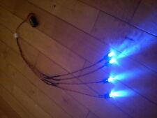 RC Car Truck LED Light Kit Ultra Bright LARGE 10mm LED HPI Traxxas BLUE