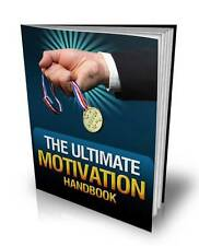 The Ultimate Motivation Handbook Ebook On CD $5.95 + Resale Rights Free Shipping