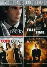 American Psycho / Fall Time / Confidence / Rain of Fire [New Dvd]
