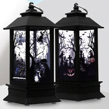 Halloween Electric Candle Lamp, Witch Skull Lamp For Haloween Party Decor
