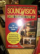 ovation software sound and vision home theater tune up