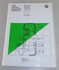 Formación bajo situación seminario bmw 5er e34 central carrocería electrónica modulo 3/1986