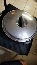 EKCO FLINT Stainless Steel 6 QUART 2 HANDLED STOCK POT WITH LID VERY CLEAN
