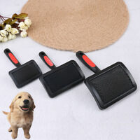 1Pc Handle shedding pet dog cat hair brush pin grooming trimmer comb toolNYFK