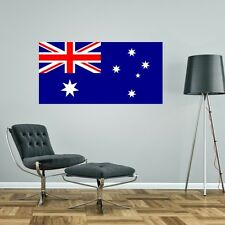 AUSTRALIA FLAG GIANT WALL STICKER decal car art vinyl 5 sizes