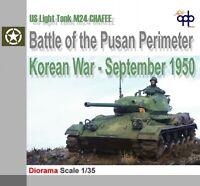 1/35 Built Gebaut Chaffee Panzer War WWII WW2 Blitzkrieg war Krieg Diorama Korea