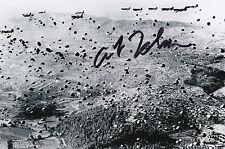 Maj. Arthur L. Johnson Signed Autographed 4x6 Photo D-Day 101st AB Market Garden