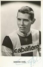 Cyclisme, ciclismo, wielrennen, radsport, cycling, GERARD KOEL signé