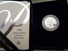 2001-W 1/4 oz. $25 Platinum American Eagle Proof