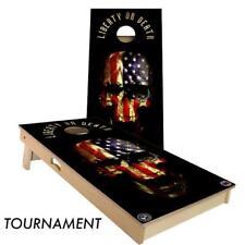Slick Woody's Liberty or Death Cornhole Board Game Set - High Quality USA Made!!