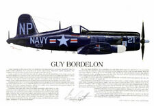 "Ernie Boyette LE ""F4U Navy Corsair Ace, Guy Bordelon"""