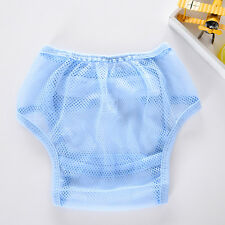 Soft Baby Washable Mesh Diaper Breathable Reusable Adjustable Diaper Nappy Cover