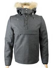 Eleven Paris Men's PIKUS Overhead Jacket Dark Grey (EPJK005a)