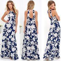 Women Summer Boho Long Maxi Evening Party Dress Beach Dresses Sundress