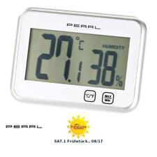 Pearl digitales Thermo- und Hygrometer mit Touchsteuerung