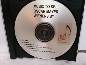 RARE MUSIC TO SELL OSCAR MAYER WIENERS BY OSCAR MAYER ~ CD