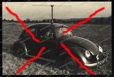 Foto-VW Käfer-Brezelkäfer-Kdf-SWF-Südwestfunk-1949-ukw-Spezialantenne-Richtwagen