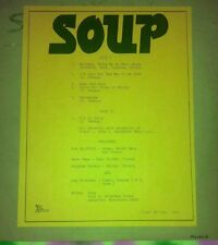 SOUP Soup ARF ARM RECORDS 1970 private pressing WISCONSIN PSYCHEDELIC VG++ OOP