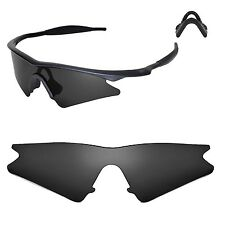 WL Polarized Black Replacement Lenses For Oakley New M Frame Sweep Sunglasses