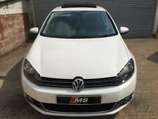 VW Golf GT TDi 140 MK6 5 Door White DSG SAT NAV SUNROOF LEATHER CRUISE HIGH SPEC