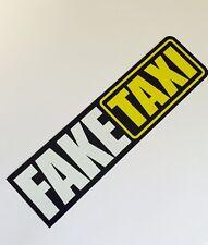 Fake Taxi Shocker Autoaufkleber Tuning Sticker DUB Decal dapper illest Turbo JDM