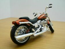 Maisto Harley-davidson 2014 CVO Breakout Orange 1 12 Moto Vélo