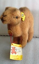 """Steiff Trampy The Camel Plush 6"""" All Tags"""